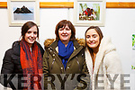 Attending the Catherine Dolan Photographic Exhibition in the Tralee Library on Tuesday night, where the proceeds of the event went to theTralee/West Kerry Multiple Sclerosis branch. L-r, Fiona Reilly, Eileen Reilly and Ciara Dolan, all from Tralee.