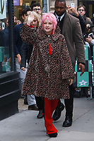 NEW YORK, NY - NOVEMBER 09: Cyndi Lauper at AOL BUILD on November 9, 2017 in New York City.   <br /> CAP/MPI99<br /> &copy;MPI99/Capital Pictures