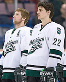 Colton Fretter, Nick Sucharski - The University of Maine Black Bears defeated the Michigan State University Spartans 5-4 on Sunday, March 26, 2006, in the NCAA East Regional Final at the Pepsi Arena in Albany, New York.