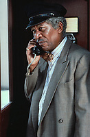 Driving Miss Daisy (1989)<br /> Morgan Freeman<br /> *Filmstill - Editorial Use Only*<br /> CAP/MFS<br /> Image supplied by Capital Pictures