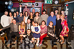 On Saturday night in The Greyhound Bar,Tralee Jason Teahan Listellick Tralee who celebrated his 21st with his family and friends (Jason is seated 3rd from left)