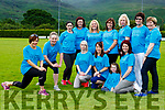 Siobhain Darcy and Anne Guerin getting in some stretches for the Half Marathon in aid of Run for the Health Link Bus campaign which will be held in Killarney on 22 July fron row l-r: Mags Keogh, Eileen Dineen, Amy and Niamh o'Connor, Back row: Kate Tangney, Charolette Cronin, Diane O'Leary, Siobhain Kelleher, Breda Lynch, Mary O'Sullivan and Martina Dineen