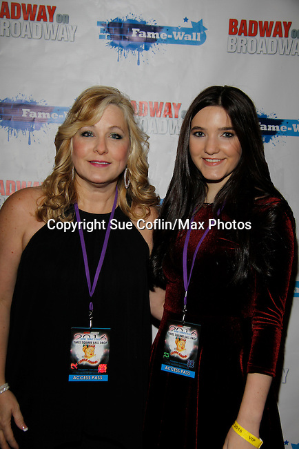 Alyssa Melani & Beverly Lynch - New Year's Eve 2016 and Times Square Ball Drop at The Copacabana, New York City, New York. (Photo by Sue Coflin/Max Photos)  suemax13@optonline.net