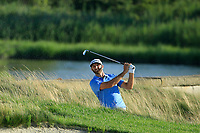 Dustin Johnson (USA) during the third round of the Northern Trust played at Liberty National Golf Club, Jersey City, USA. 10/08/2019<br /> Picture: Golffile | Michael Cohen<br /> <br /> All photo usage must carry mandatory copyright credit (© Golffile | Michael Cohen)