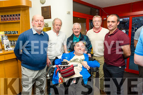The launch of the new Kerry Recreation and Sports Partnership Strategic Plan 2017- 2022 in Siamsa Tire on Monday night pictured St. Brendan's park Fc front George Dineen Jr.   Christy Leahy, Frank O'Connor, George Dineen, Colm McLoughlin and Padraig McCannon