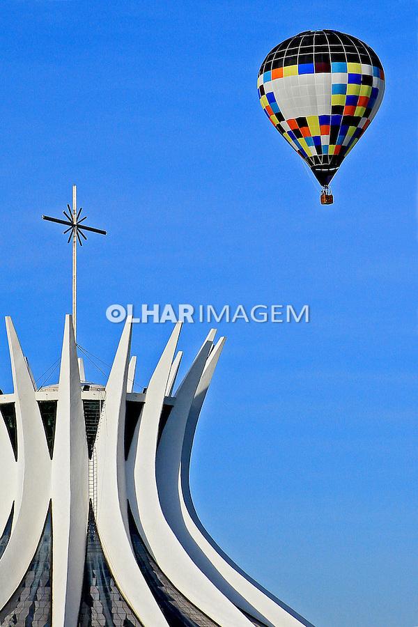 Catedral Metropolitana Nossa Senhora Aparecida. Brasilia. Distrito Federal. 2012. Foto Joao Roberto