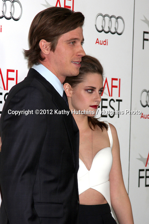 "LOS ANGELES - NOV 3:  Garrett Hedlund, Kristen Stewart arrives at the AFI Film Festival 2012  ""On the Road"" Gala Screening at Los Angeles on November 3, 2012 in Graumans Chinese Theater, CA"
