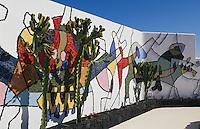 Spanien, Kanarische Inseln, Lanzarote, Wohnhaus von Cesar Manrique in Taro de Tahiche
