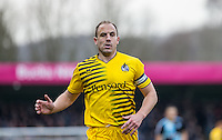 Mark McChrystal of Bristol Rovers during the Sky Bet League 2 match between Wycombe Wanderers and Bristol Rovers at Adams Park, High Wycombe, England on 27 February 2016. Photo by Andrew Rowland.