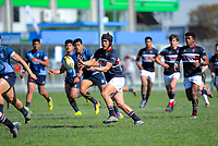 Action from the Hurricanes Co-Ed 1st XV rugby final between Feilding High School and Aotea College at CET Stadium in Palmerston North, New Zealand on Saturday, 31 August 2019. Photo: Dave Lintott / lintottphoto.co.nz
