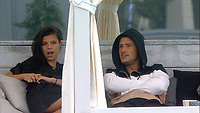 Celebrity Big Brother 2017<br /> Jordan Davies and Marissa Jade.<br /> *Editorial Use Only*<br /> CAP/KFS<br /> Image supplied by Capital Pictures