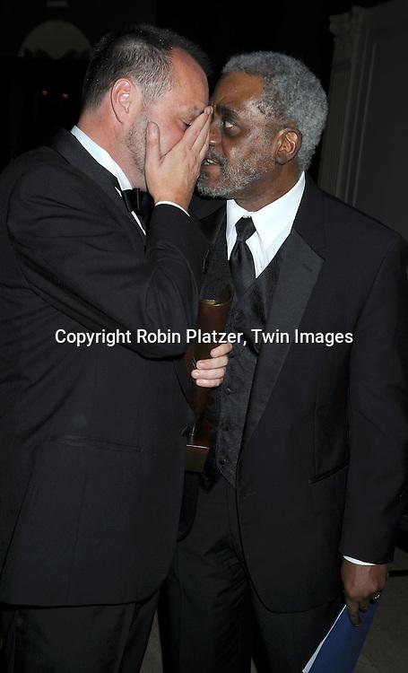 Colum McCann and Charles Johnson