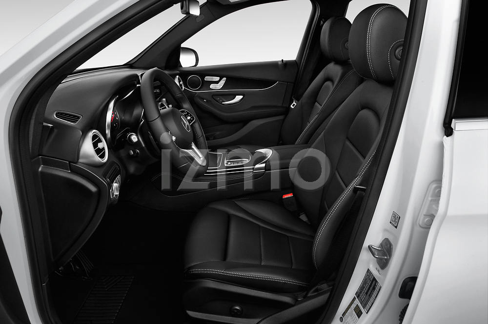 Front seat view of a 2020 Mercedes Benz GLC-Class GLC300 5 Door SUV front seat car photos