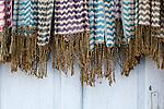Silk scarves for sale at a shop in Nguyen Thai Hoc St, Hoi An, Viet Nam