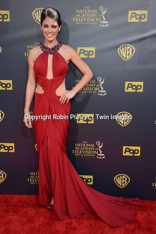 Lindsay Hartley attends the 42nd Annual Daytime Emmy Awards on April 26th, 2015 at the Warner Bros. Studio in Burbank, California, USA.  <br /> <br /> Photo by Robin Platzer / Twin Images<br /> 212-935-0770
