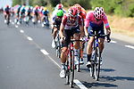 No surprise to see Thomas de Gendt (BEL) Lotto-Soudal in the day's 34 man breakaway during Stage 17 of the 2019 Tour de France running 200km from Pont du Gard to Gap, France. 24th July 2019.<br /> Picture: ASO/Alex Broadway | Cyclefile<br /> All photos usage must carry mandatory copyright credit (© Cyclefile | ASO/Alex Broadway)