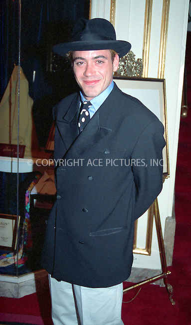WWW.ACEPIXS.COM *** NO U.K. NEWSPAPERS SALES ***..NEW YORK CIRCA 1995: ROBERT DOWNEY JR.....Please byline: R. BOCKLET-ACE PICTURES.   ..  ***  ..Ace Pictures, Inc:  ..contact: Alecsey Boldeskul (646) 267-6913 ..Philip Vaughan (646) 769-0430..e-mail: info@acepixs.com