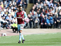 Burnley's Aaron Lennon<br /> <br /> Photographer Rich Linley/CameraSport<br /> <br /> The Premier League - Burnley v Leicester City - Saturday 14th April 2018 - Turf Moor - Burnley<br /> <br /> World Copyright &copy; 2018 CameraSport. All rights reserved. 43 Linden Ave. Countesthorpe. Leicester. England. LE8 5PG - Tel: +44 (0) 116 277 4147 - admin@camerasport.com - www.camerasport.com