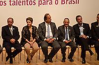 RIO DE JANEIRO, RJ, 07.05.2014 - DILMA ROUSSEFF OLIMPIADAS DE MATEMATICA DAS ESCOLAS PUBLICAS - A presidente Dilma Rousseff durante a cerimônia nacional de premiação da 9ª Olimpíada Brasileira de Matemática das Escolas Públicas, promovida pelo Instituto Nacional de Matemática Pura e Aplicada (Impa), realizada na Cidade das Artes, na Barra da Tijuca, na zona oeste do Rio de Janeiro, nesta quarta-feira. (Foto: Tércio Teixeira / Brazil Photo Press).