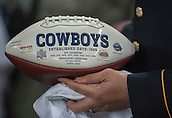 09.11.2014.  London, England.  NFL International Series. Jacksonville Jaguars versus Dallas Cowboys.  Dallas Cowboys ceremonial ball.
