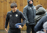 Leicester City's Shinji Okazaki arrives at Turf Moor ahead of kick-off<br /> <br /> Photographer Rich Linley/CameraSport<br /> <br /> The Premier League - Burnley v Leicester City - Saturday 16th March 2019 - Turf Moor - Burnley<br /> <br /> World Copyright © 2019 CameraSport. All rights reserved. 43 Linden Ave. Countesthorpe. Leicester. England. LE8 5PG - Tel: +44 (0) 116 277 4147 - admin@camerasport.com - www.camerasport.com