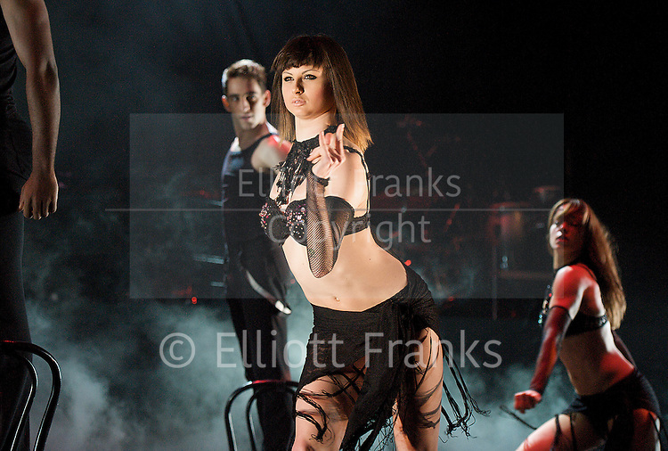 Burn the Floor <br /> at Shaftesbury Theatre, London, Great Britain <br /> press photocall <br /> 7th March 2013 <br /> <br /> Robin Windsor <br /> Kristina Rihanoff<br /> <br /> Kevin Clifton<br /> Karen Hauer<br /> <br /> Robbie Kmetoni<br /> Janette Manara<br /> <br /> Keoikantse Motsepe<br /> Giulia Dotta<br /> <br /> Santo Costa<br /> Jemma Armstrong <br /> <br /> Patrick Helm<br /> Giselle Peacock<br /> <br /> Jack Chambers<br /> Natascha DeJong<br /> <br /> Aljaz Skorjanec<br /> Faye Huddleston<br /> <br /> Shem Jacobs<br /> Ash-Leigh Hunter<br /> <br /> <br /> Photograph by Elliott Franks