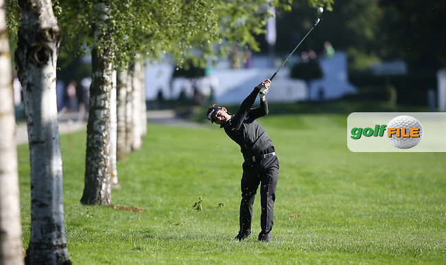 Jbe Kruger (RSA) finds the edge of the trees down the first fairway during Round One of the 2015 BMW International Open at Golfclub Munchen Eichenried, Eichenried, Munich, Germany. 25/06/2015. Picture David Lloyd   www.golffile.ie