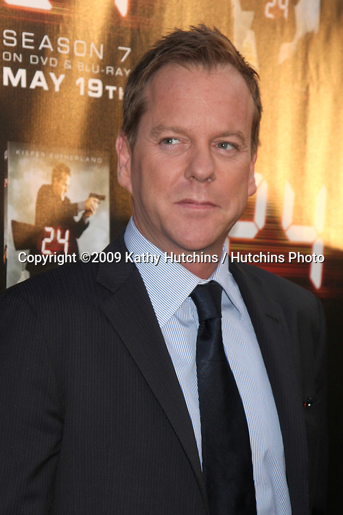 Kiefer Sutherland arriving at the 24 Season Finale Screening (Season 8), and Season 7 DVD Release at the Wadworth Theater in Westwood , CA  on May 12, 2009.©2009 Kathy Hutchins / Hutchins Photo....                .