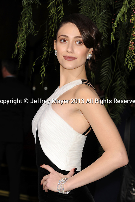 HOLLYWOOD, CA - FEBRUARY 06: Emmy Rossum arrives at the Los Angeles premiere of 'Beautiful Creatures' at TCL Chinese Theatre on February 6, 2013 in Hollywood, California.