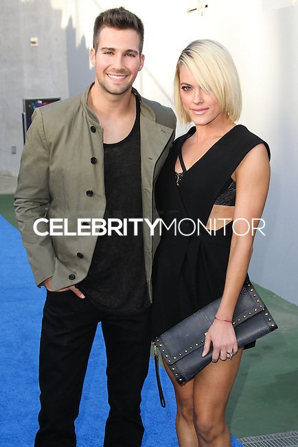 CARSON, CA, USA - MAY 10: James Maslow, Peta Murgatroyd at 102.7 KIIS FM's 2014 Wango Tango at StubHub Center on May 10, 2014 in Carson, California, United States. (Photo by Xavier Collin/Celebrity Monitor)