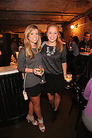 Rachel Napolitano and Gillian Cronin attend the private screening of ABC's new show Selfie at the Wythe Hotel's cinema in Brooklyn on September 24, 2014