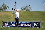 April 13, 2015; Ventura, CA, USA; Loyola Marymount Lions golfer Blake Meek during the WCC Golf Championships at Saticoy Country Club.