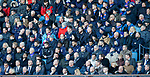 02.02.2019 Rangers v St Mirren: Unused Rangers players watching on
