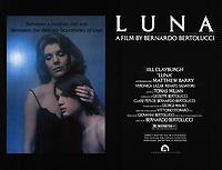 Luna (1979) <br /> La luna (original title)<br /> POSTER ART<br /> *Filmstill - Editorial Use Only*<br /> CAP/RFS<br /> Image supplied by Capital Pictures