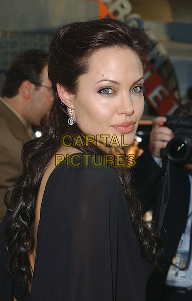 ANGELINA JOLIE.Lara Croft Tomb Raider: The Cradle Of Life LA Film Premiere at Grauman's Chinese Theatre, Hollywood.www.capitalpictures.com.sales@capitalpictures.com.©Capital Pictures..headshot, portrait