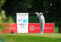 Jamie Abbott (ENG) on the 2nd tee during Round 1 of the Bridgestone Challenge 2017 at the Luton Hoo Hotel Golf &amp; Spa, Luton, Bedfordshire, England. 07/09/2017<br /> Picture: Golffile | Thos Caffrey<br /> <br /> <br /> All photo usage must carry mandatory copyright credit     (&copy; Golffile | Thos Caffrey)