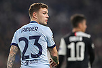 Kieran Trippier of Atletico Madrid looks over his shoulder with Paulo Dybala of Juventus pictured in the foreground during the UEFA Champions League match at Juventus Stadium, Turin. Picture date: 26th November 2019. Picture credit should read: Jonathan Moscrop/Sportimage