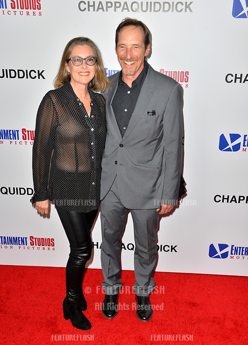 Taylor Nichols &amp; Margarita de Eguilior  at the premiere for &quot;Chappaquiddick&quot; at the Samuel Goldwyn Theatre, Los Angeles, USA 28 March 2018<br /> Picture: Paul Smith/Featureflash/SilverHub 0208 004 5359 sales@silverhubmedia.com
