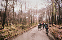 into the woods<br /> <br /> 50th GP Samyn 2018<br /> Quaregnon &gt; Dour: 200km (BELGIUM)