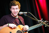 Phillip Phillips visits MIX 106.1's iHeart Radio Performance Theater in Bala Cynwyd, Pa on August 21, 2012  &copy; Star Shooter / MediaPunchInc /NortePhoto.com<br />