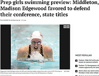 Edgewood's Kelly Rodriguez swims the 200 yard individual medley to place third, with a time of 2:07.45<br /> during the WIAA Division 2 girls state swimming championship on Friday, 11/11/16 at the UW Natatorium in Madison | Wisconsin State Journal 2017 girls high school swimming preview online on 8/21/17 at http://host.madison.com/wsj/sports/high-school/swimming/prep-girls-swimming-preview-middleton-madison-edgewood-favored-to-defend/article_69e4c565-cf9a-578d-b6f1-6c73b0baf301.html