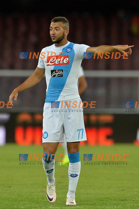 Omar El Kaddouri Napoli<br /> Napoli 7-08-2016  Stadio San Paolo<br /> amichevole / friendly match.<br /> Napoli - Monaco<br /> Foto Antonietta Baldassarre / Insidefoto