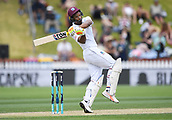 3rd December 2017, Wellington, New Zealand;  West Indies batsman Kieran Powell.<br /> Day 3. New Zealand Black Caps v West Indies. 1st test match of the ANZ International Cricket Season 2017/18 season. Basin Reserve, Wellington,