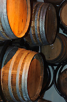 Brandy-Fässer, La Mare Wine Estate, Insel Jersey, Kanalinseln