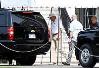 Donald Trump departs the White House to Trump International Golf Club
