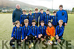 The Inter Kenmare FC U12's who played Iveraght Utd on Saturday were front l-r; Emmett Cronin,  Daragh O'Sullivan, Finn Murphy, Frankie O'Shea, Adam Noonan, Rían O'Sullivan, back l-r; Martin Cronin, John O'Sullivan, Jack Wiggins, Diarmuid Healy, Ruairí Coakley,  Daragh Sweeney, Óisín Hanley & Alan O'Sullivan.