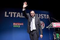 Bergamo: Umberto Ambrosoli durante un incontro organizzato a Bergamo dal Partito Democratico