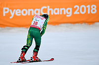Day 4 / SGS Combined / Mitch Gourley<br /> PyeongChang 2018 Paralympic Games<br /> Australian Paralympic Committee<br /> PyeongChang South Korea<br /> Tuesday March 13th 2018<br /> &copy; Sport the library / Jeff Crow