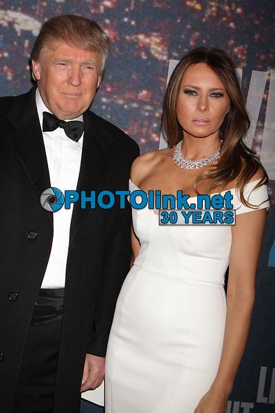 Donald Trump Melania Trump 2015<br /> Photo By John Barrett/PHOTOlink