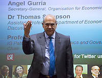27.04.2016 - LSE Presents: Angel Gurría, Secretary-General of OECD - #LSEBrexitVote